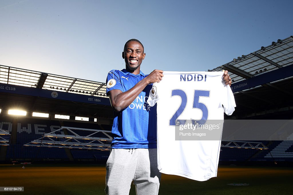 Leicester City Unveil New Signing Wilfred Ndidi : News Photo