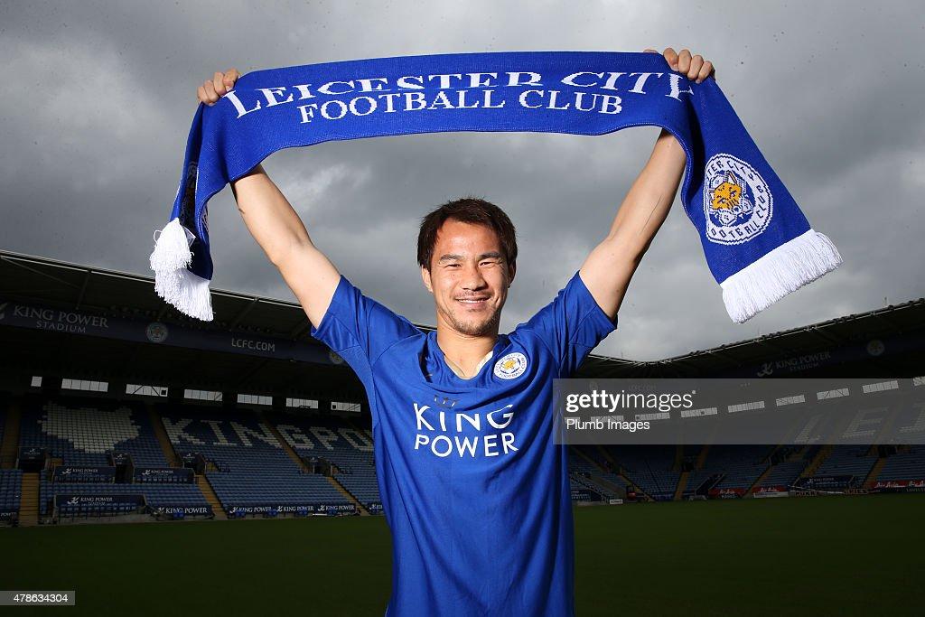 Leicester City FC Unveil New Signing Shinji Okazaki : News Photo