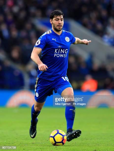 Leicester City's Aleksander Dragovic