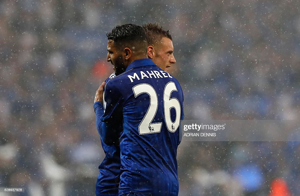 FBL-ENG-PR-LEICESTER-EVERTON : News Photo