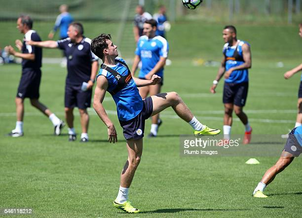 Leicester City's Ben Chilwell during the Leicester City PreSeason tour of Austria at Stegersbach Training Facility on July 11th 2016 in Stegersbach...