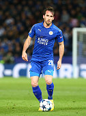 leicester citys christian fuchsduring uefa champions