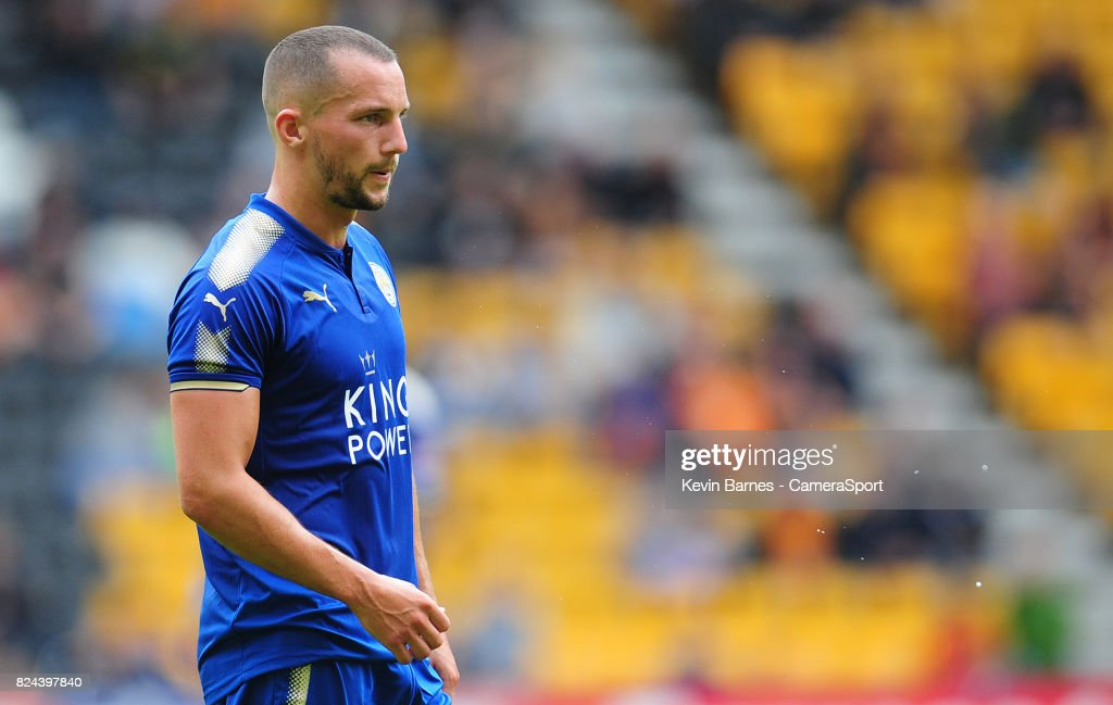 Leicester Citys Danny Drinkwater during the pre-season friendly match between Wolverhampton Wanderers and Leicester City at Molineux on July 29, 2017 in Wolverhampton, England.