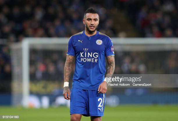 Leicester City's Danny Simpson during the The Emirates FA Cup Fifth Round match between Leicester City and Sheffield United at The King Power Stadium...