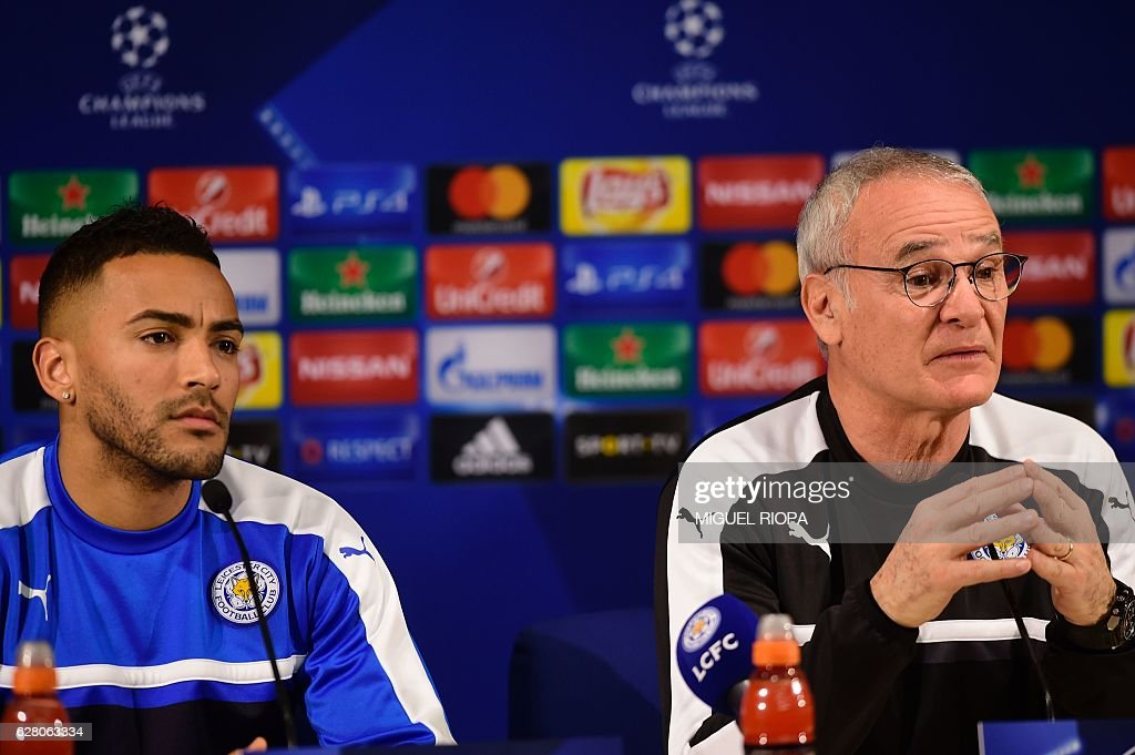 FBL-EUR-C1-LEICESTER-PRESSER : News Photo