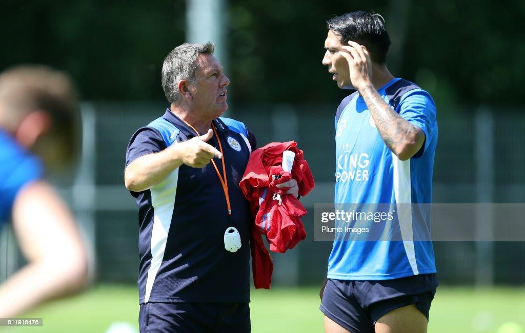 Leicester City Pre-Season Training Camp : News Photo