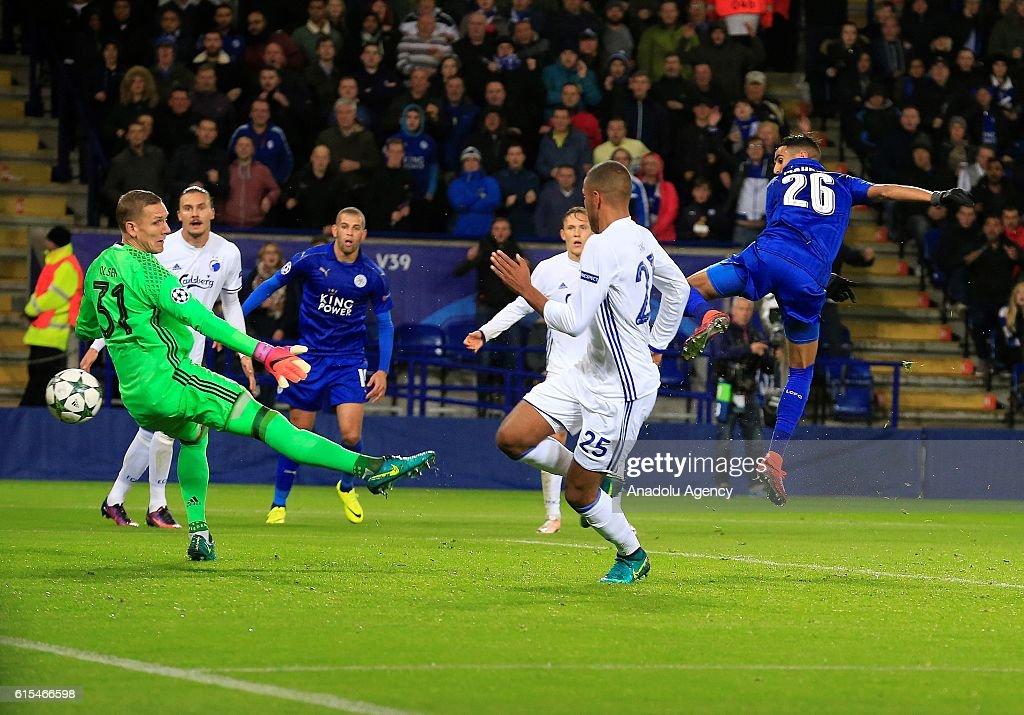 Leicester City FC v FC Copenhagen - UEFA Champions League : News Photo