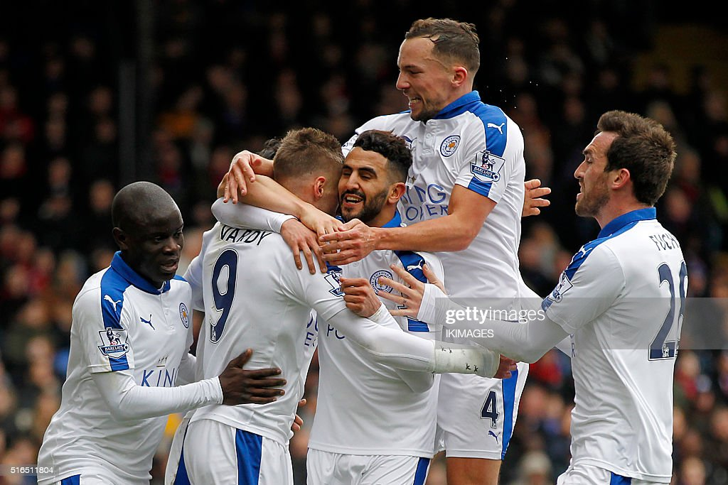 FBL-ENG-PR-CRYSTAL PALACE-LEICESTER : News Photo
