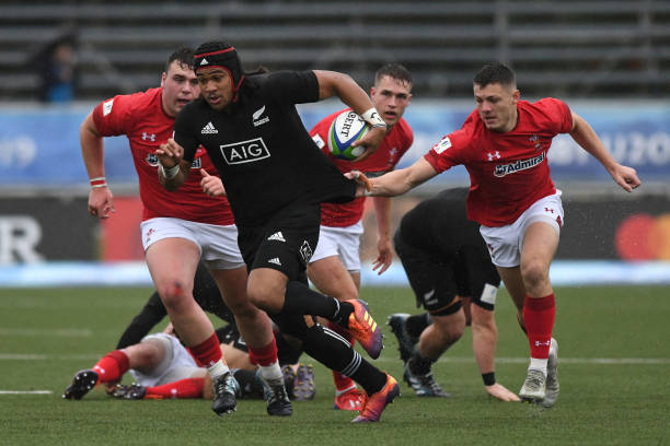 ARG: New Zealand U20 v Wales U20 - World Rugby U20 Championship 2019