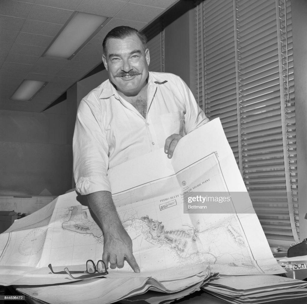 Leicester Hemingway : News Photo