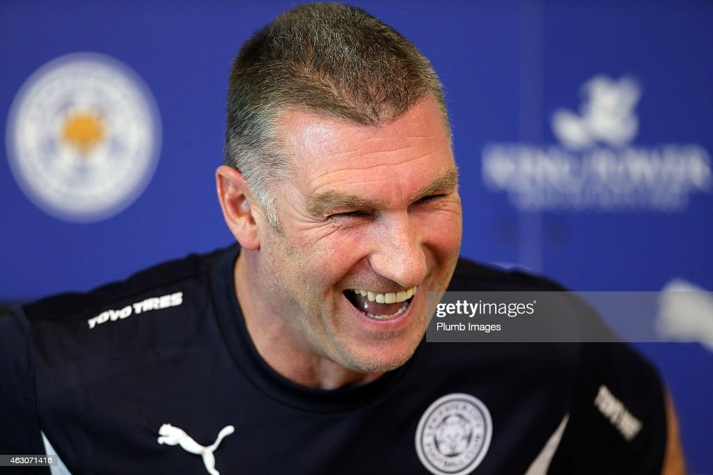 Leicester City Training and Press Confernece