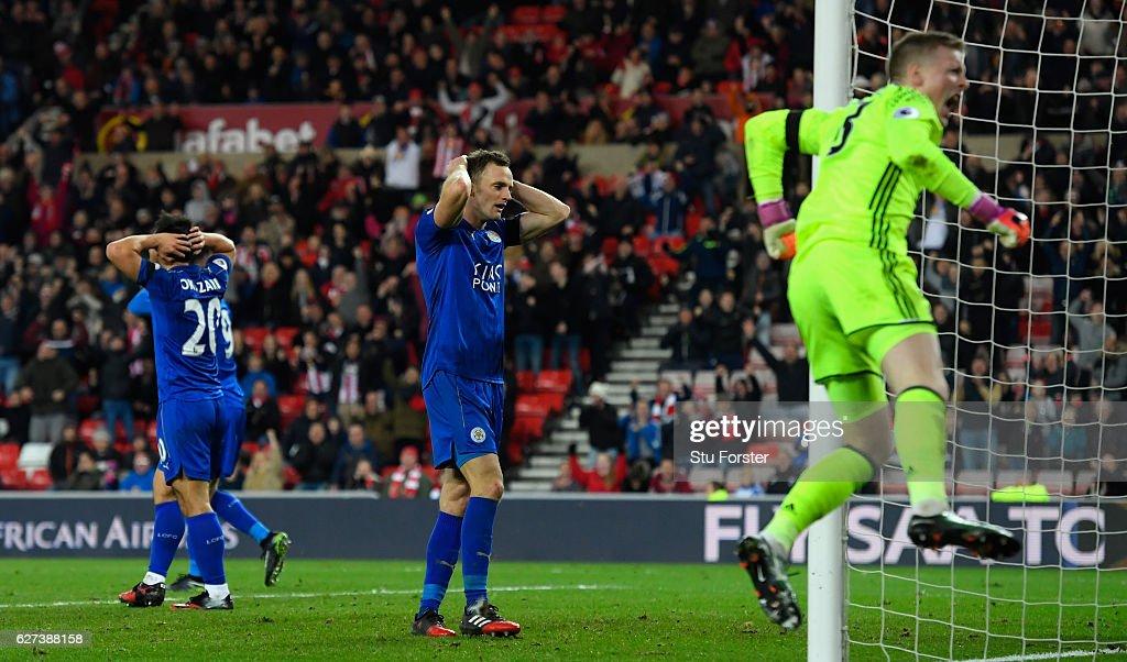 Sunderland v Leicester City - Premier League : News Photo