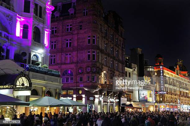 CONTENT] Leicester Square at night London 23rd November 2013