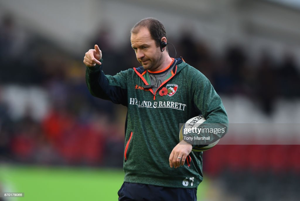 Leicester Tigers v Gloucester Rugby - Anglo-Welsh Cup : News Photo