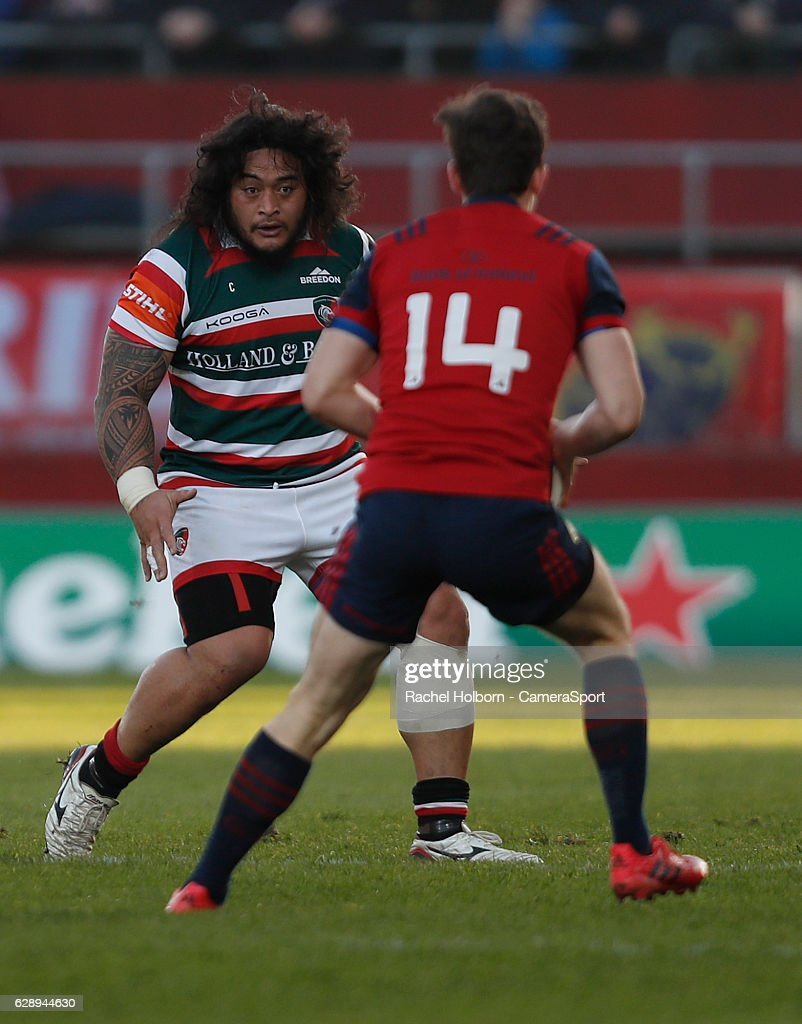 Munster Rugby v Leicester Tigers - European Rugby Champions Cup : News Photo
