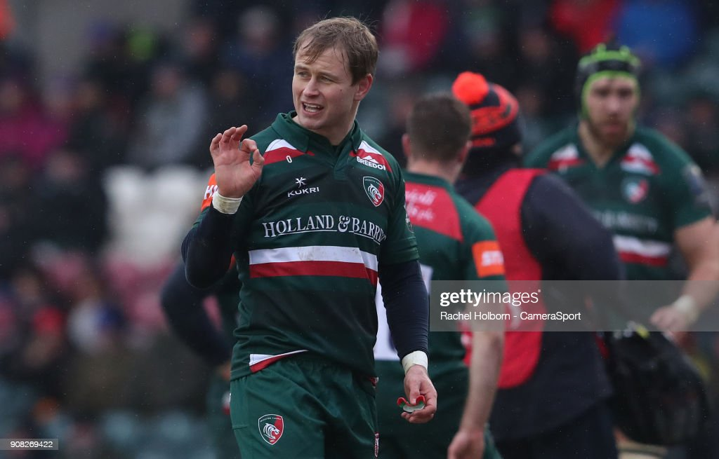 Leicester Tigers v Racing 92 -  Champions Cup : News Photo