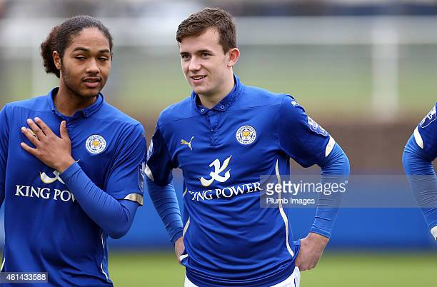 Leicester's Ben Chilwell during the Barclays U21 League match between Leicester City and Everton at Belvoir Drive Training Ground on January 12 2015...