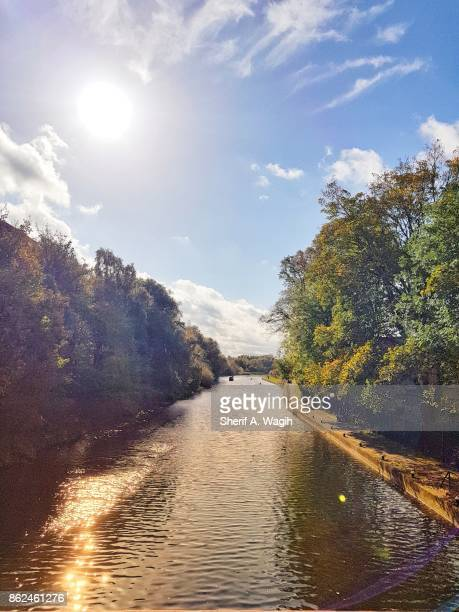 leicester's river soar - leicester stock pictures, royalty-free photos & images