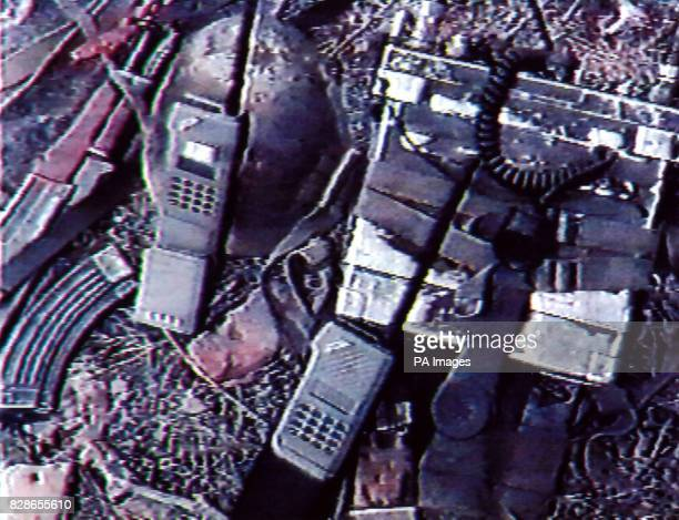 Leicestershire Police released image found on a videotape in the possession of Brahim Benmerzouga of a radio type analogous to the parts list sent...