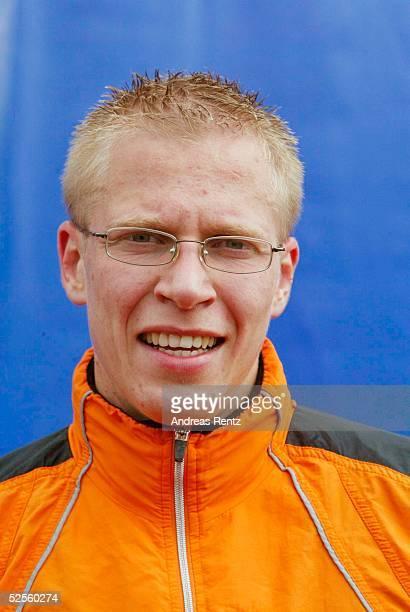 Leichtathletik: Deutsche Meisterschaft 2004, Braunschweig; 1500 Meter / Maenner; Wolfram MUELLER / GER 11.07.04.