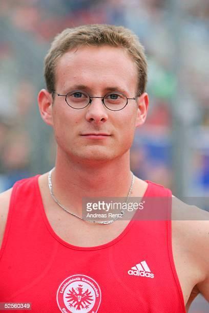 Leichtathletik Deutsche Meisterschaft 2004 Braunschweig 400 Meter / Maenner Sebastian GATZKA / GER 110704