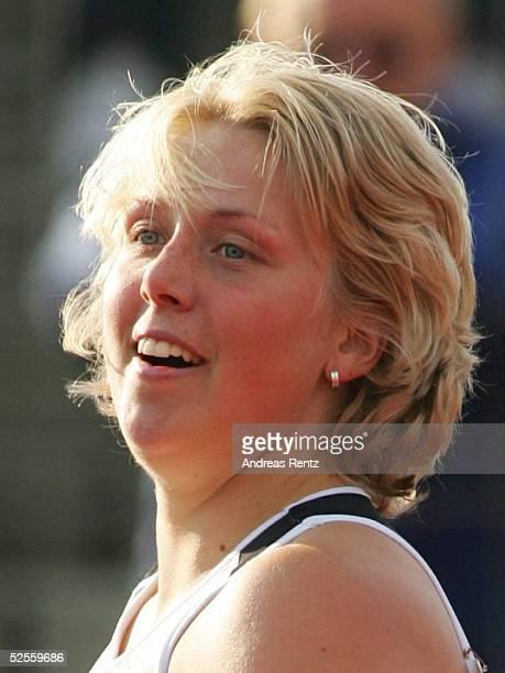 Leichtathletik: Deutsche Meisterschaft 2004, Braunschweig; Speerwurf / Frauen; Christina OBERGFOELL / GER 11.07.04.