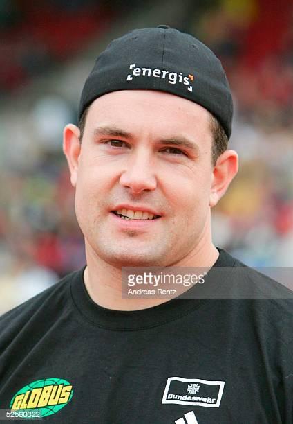 Leichtathletik: Deutsche Meisterschaft 2004, Braunschweig; Speerwurf / Maenner; Boris HENRY / GER 11.07.04.