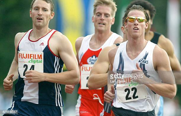 Leichtathletik DLV Mehrkampfmeeting 2004 Ratingen Stefan DREWS / Ahrensburger TSV wurde am Ende dritter Florian SCHOENBECK / LG Regensburg wurde am...
