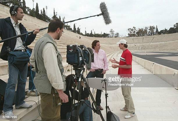 """Leichtathletik: Olympische Spiele 2004, Athen; TV Sendung, """" Zuerich Sports Der Weg nach Athen """" mit Danny ECKER / GER, Sendetermin 29.05.04 um 15:15..."""
