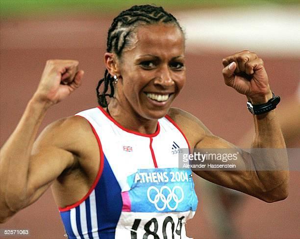 Leichtathletik: Olympische Spiele Athen 2004, Athen; 1500m / Frauen; Gold: Kelly HOLMES / GBR 28.08.04.