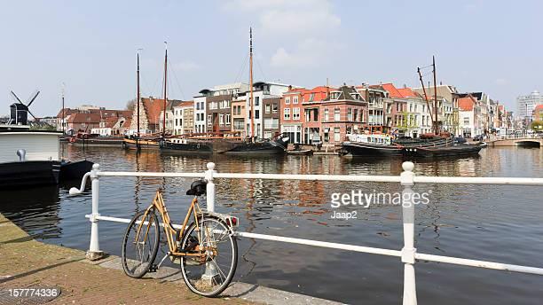 Leiden cityscape