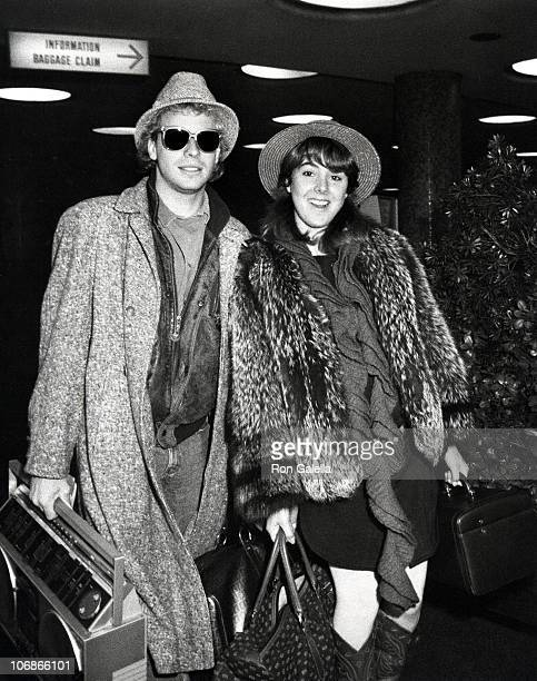 Leif Garrett and Victoria Sellers during Leif Garrett and Victoria Sellers Sighting at LAX Airport March 1 1983 at Los Angeles International Airport...