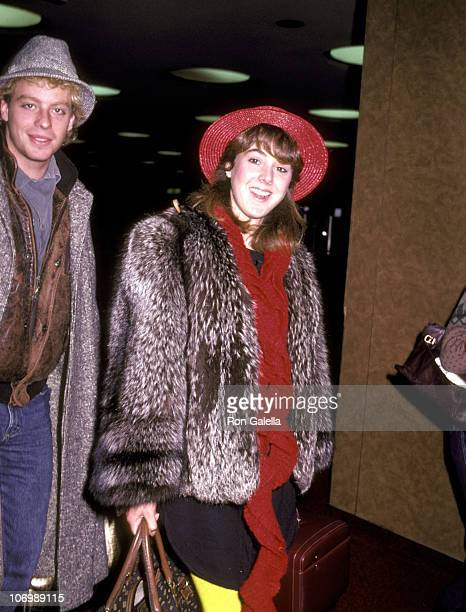 Leif Garrett and Victoria Sellers during Leif Garrett and Victoria Sellers at Los Angeles International Airport at Los Angeles International Airport...