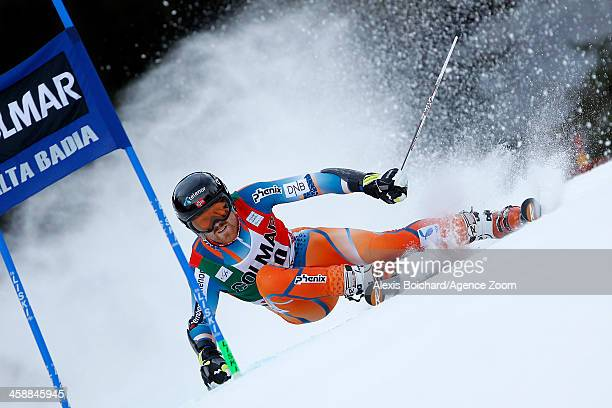 Leif Kristian Haugen of Norway competes during the Audi FIS Alpine Ski World Cup Men's Giant Slalom on December 22 2013 in Alta Badia Italy