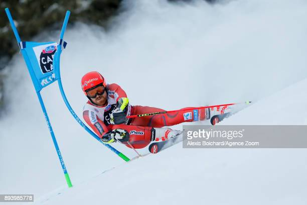 Leif Kristian Nestvoldhaugen of Norway competes during the Audi FIS Alpine Ski World Cup Men's Giant Slalom on December 17 2017 in Alta Badia Italy