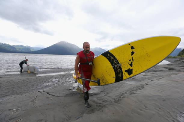 Feature - Bore Tide Surfing in Alaska