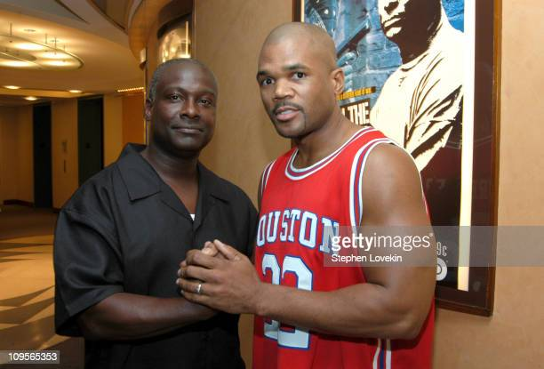 Leifel Jackson and Darryl McDaniels from Run DMC during New York Premiere of The HBO America Undercover Documentary Back In The Hood Gang War 2 at...