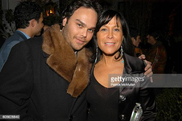Leigh and Joanne Horowitz attend ETRO and PERRIER JOUET Celebrate Patrick McMullan's Book KISS KISS at Chateau Marmont on February 28 2006 in...