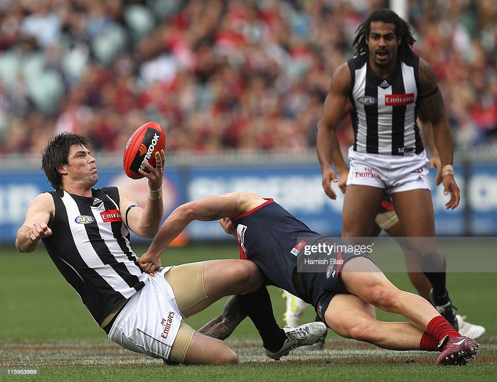 AFL Rd 12 - Melbourne v Collingwood