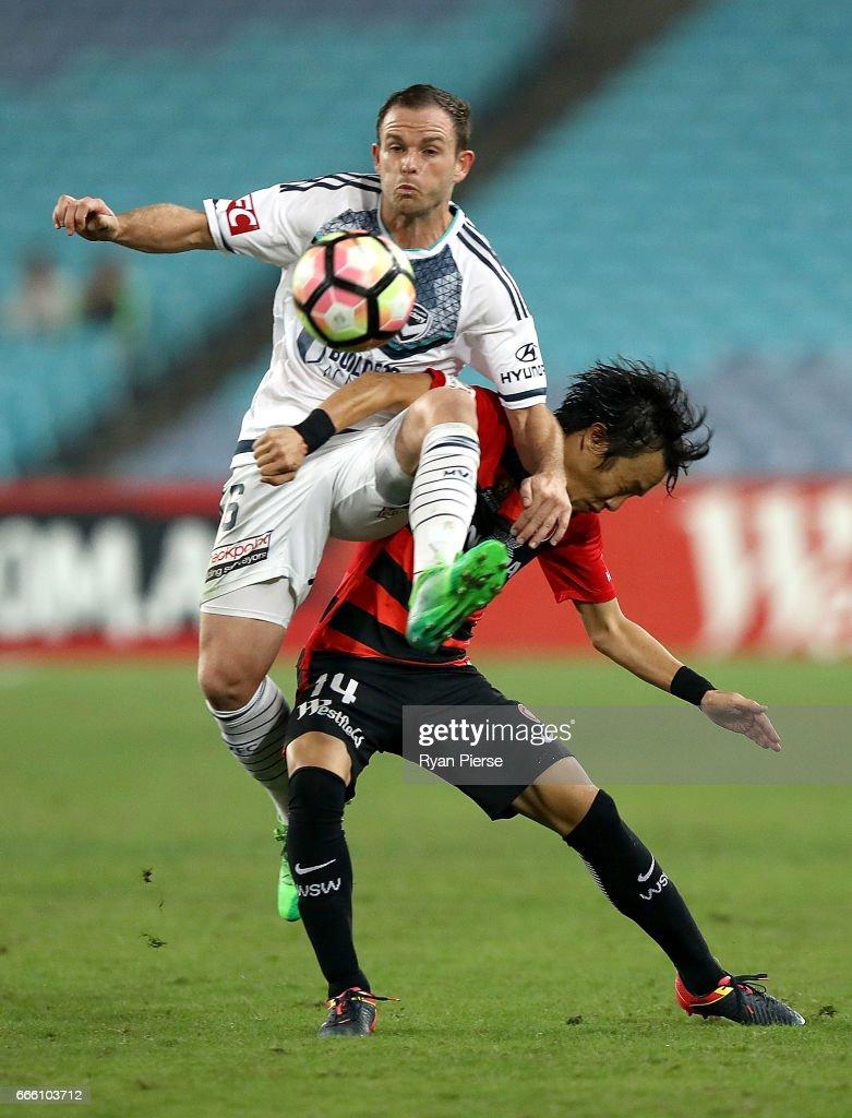 A-League Rd 26 - Western Sydney v Melbourne