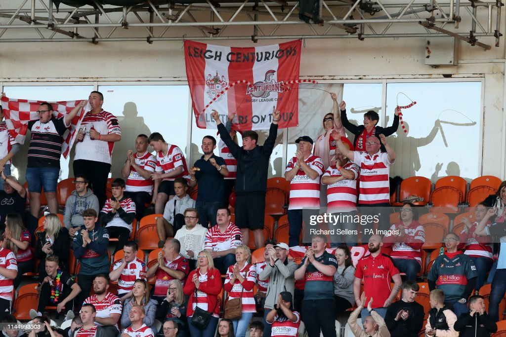 Leigh Centurions v Widnes Vikings - Betfred Championship Summer Bash - Bloomfield Road : News Photo