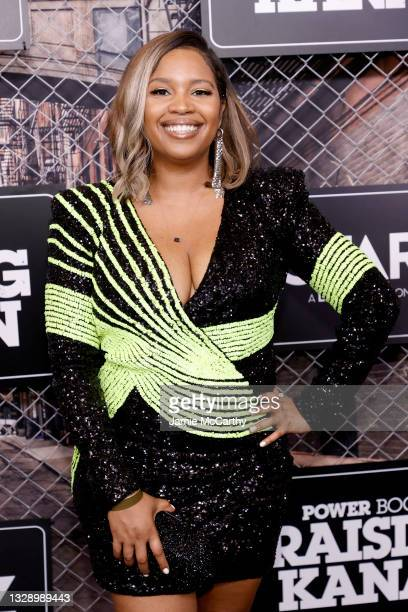 Leigh Davenport attends 'Power Book III: Raising Kanan' global premiere event and screening at Hammerstein Ballroom on July 15, 2021 in New York City.