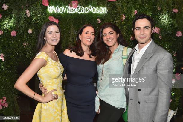 Leigh Fidler Ann Caruso Celine Martion and Zac Posen attend the VieVite x Zac Posen LimitedEdition Bottle Launch at Salon de Ning at The Penisula on...