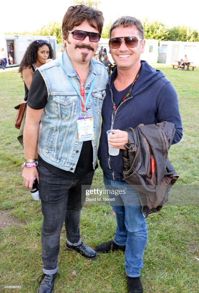 Mahiki Rum Bar For The Mahiki Rum Family Backstage at V Festival 2014 - Day 1 : News Photo