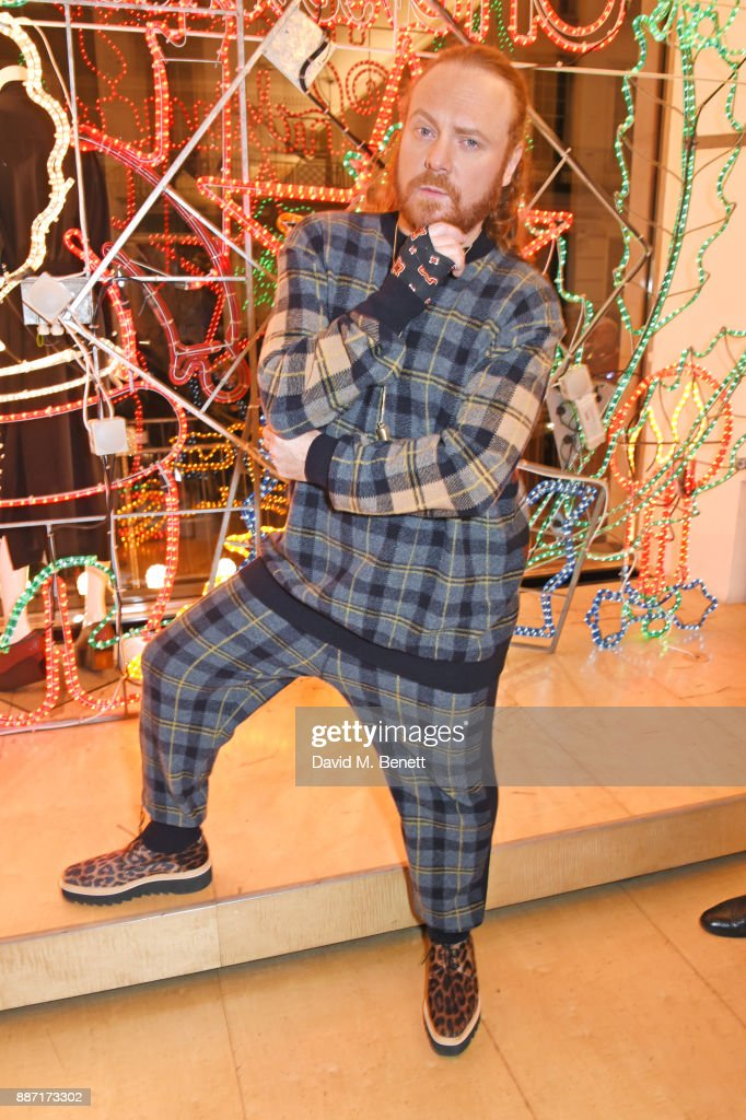 Leigh Francis aka Keith Lemon attend the Stella McCartney Christmas Lights 2017 party on December 6, 2017 in London, England.