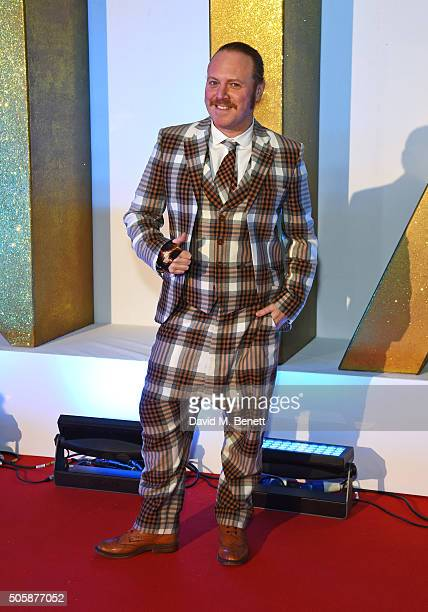 Leigh Francis aka Keith Lemon attends the 21st National Television Awards at The O2 Arena on January 20 2016 in London England
