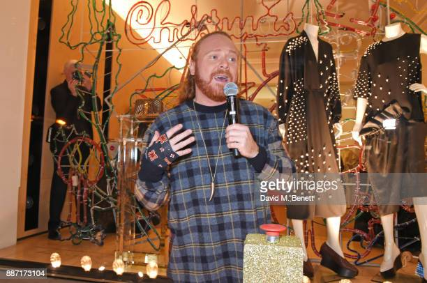 Leigh Francis aka Keith Lemon attends the Stella McCartney Christmas Lights 2017 party on December 6 2017 in London England