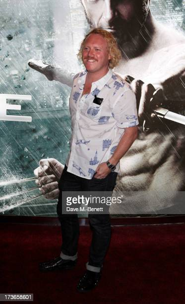 Leigh Francis aka Keith Lemon attends the UK Premiere of 'The Wolverine' at Empire Leicester Square on July 16 2013 in London England