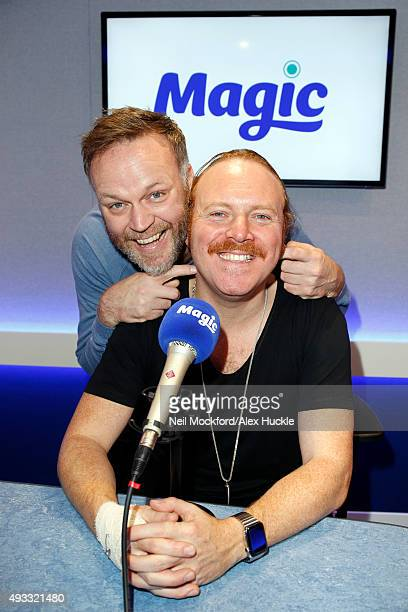Leigh Francis aka Keith Lemon speaking to Nick Snaith on Magic in the Morning on October 19 2015 in London England