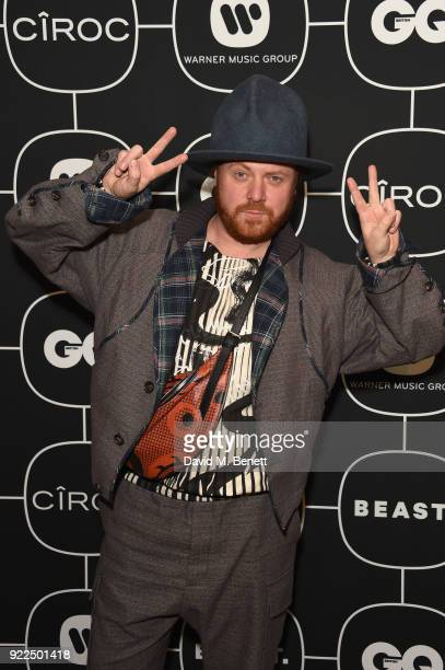 Leigh Francis attends the Brits Awards 2018 After Party hosted by Warner Music Group Ciroc and British GQ at Freemasons Hall on February 21 2018 in...